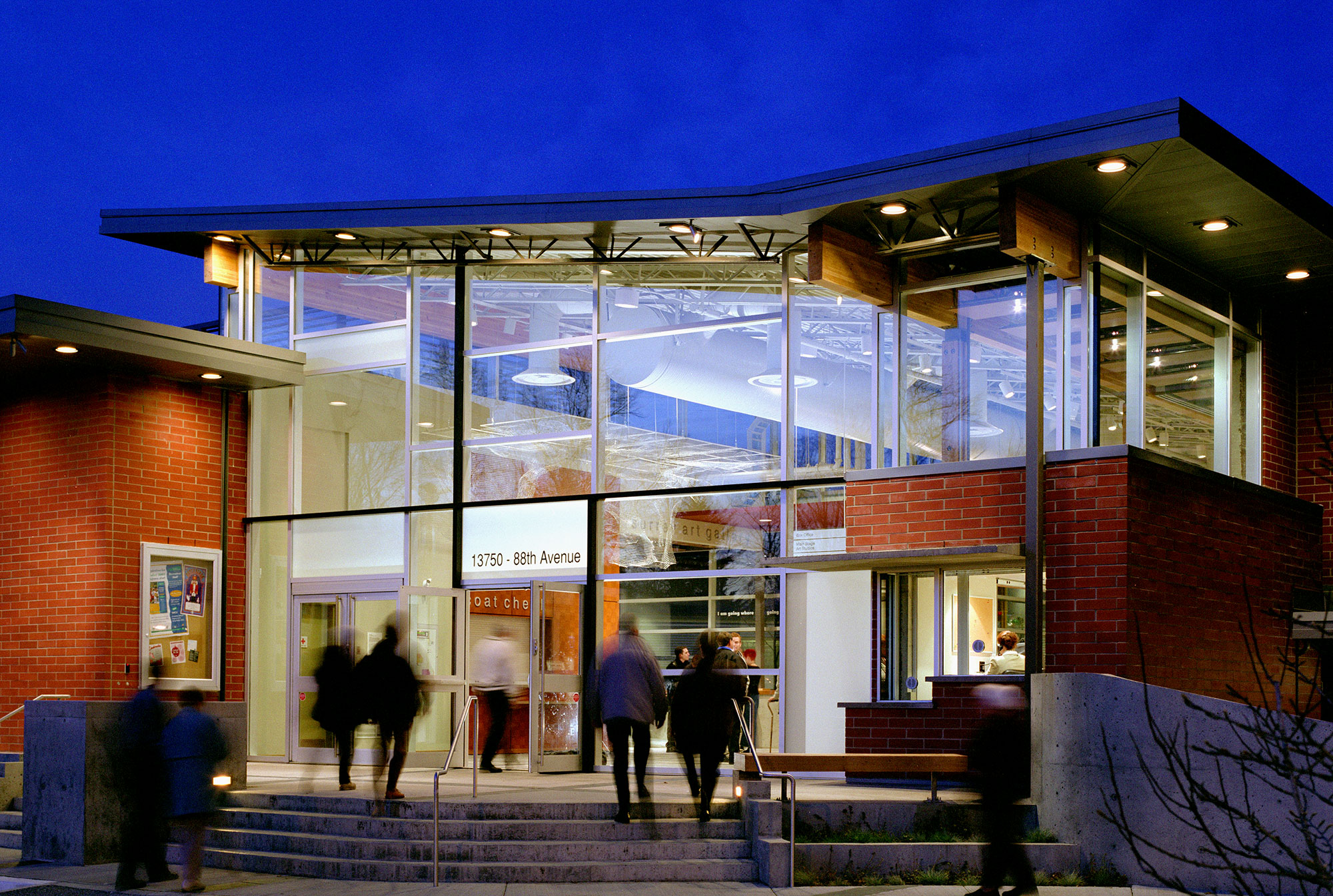 Work firm journal contact for Vancouver architecture firms