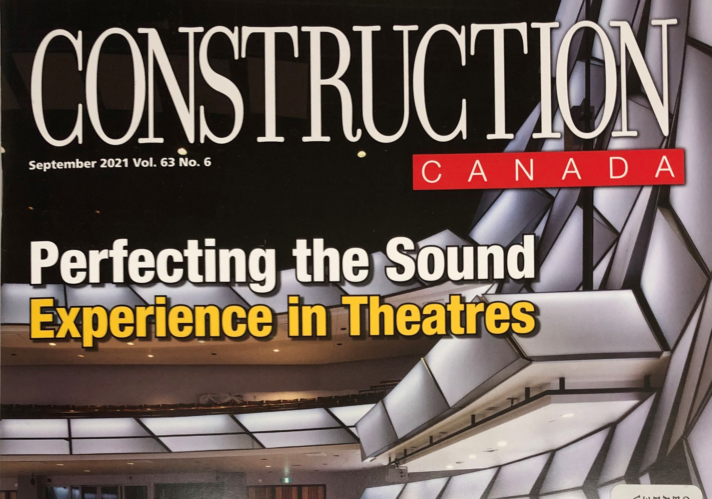 QET and BMO Theatre featured in Construct Connect
